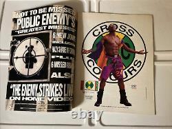 The Source Magazine November 1992 Dr. Dre Death Row Cover Vintage Rap