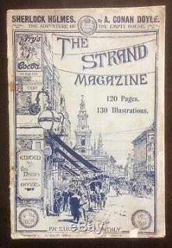 The Strand Magazine Oct 1903 Doyle Sherlock Holmes Short Story Sidney Paget Rare