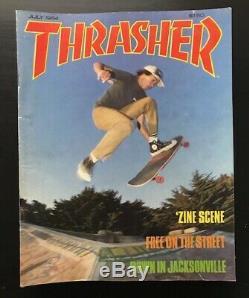 Thrasher Magazine Lot 1984 Zine 11 Issues Skateboard Vg