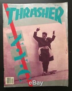 Thrasher Magazine Lot 1985 Skateboarding 10 Issues Vg+-ex Hawk