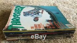 Thrasher Magazine Lot 1988 Robert Williams 9 Issues Eric Dressen Ex-vg