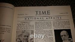 Time Magazine January 1 1940 Joseph Stalin Man of the Year WWII