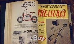 Treasure hunting Magazine library for detectorists prospectors, relic hunters