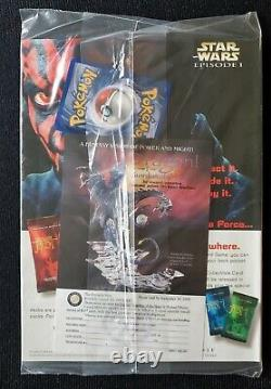 ULTRA RARE DUELIST MAGAZINE Sept 1999 with1st Edition Pikachu Promo 60/64 SEALED