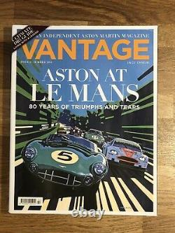 VANTAGE Magazine Issues 1 2 3 4 5 6 7 8 9 10 11 12 Aston Martin V8 V12 Vanquish