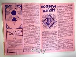 VINTAGE 1970s GANDALF'S GARDEN #6 Magazine Hippie Counter Culture OCCULT LONDON