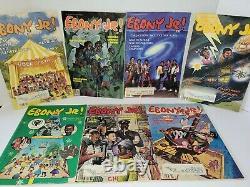 VINTAGE 1980'S ERA EBONY JR. MAGAZINES LOT OF 7 Jackson Halloween Christmas