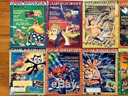 VTG Game Informer Magazines Lot Of 9 No. 2,3,4,5,6,8,9,10,11 COMPLETE