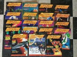 Vintage NINTENDO POWER MAGAZINEs Lot of 21, 1988-1991 VG, G and F Condition