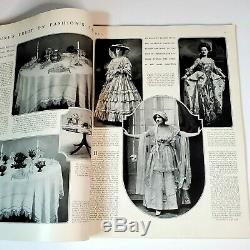 Vintage Vogue Magazine Spring Pattern Number of Vogue March 1, 1916 AMAZING