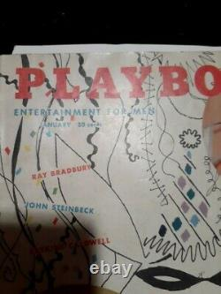 Vintage play boy magazine January 1955, Bettie Paige issue