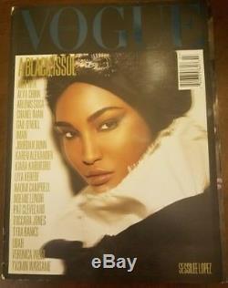 Vogue Italia July 2008 Black Issue 2008 Fall Winter Fashion Show Magazine