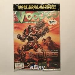 Voodoo 3DFX Magazine #4 Winter 1998 Sealed, FF7 demo disc included