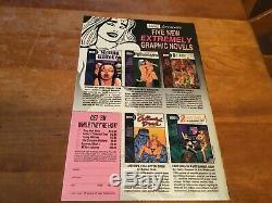 WALLACE WOOD'S MALICE IN WONDERLAND 1993, EROS Comix Underground Comic