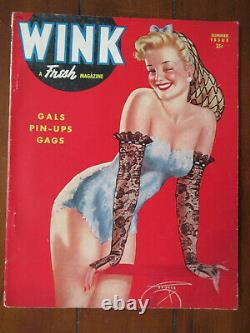 WINK Magazine Volume 1 Number 1 1944 first issue scarce