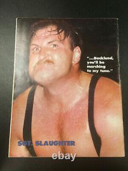 WWF Victory Collector's First Edition Magazine