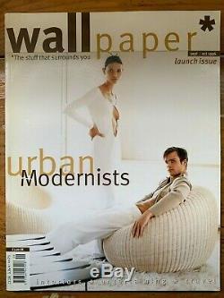 Wallpaper magazine issue 1 September/October 1996 (Tyler Brulé period)