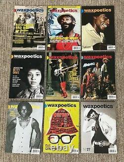 Wax Poetics Magazine Complete Collection #1-50 plus Xtras Jazz Funk Soul Hip Hop