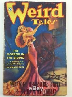 Weird Tales June 1935 -Robert E. Howard Conan Beyond The Black River VG