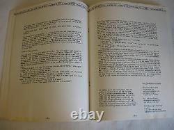 William S Burroughs Underground Magazine Bulletin From Nothing No 1 RARE 1965
