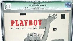 World's Highest Graded (cgc 9.2) Hugh Hefner Signed Original Page 3 #1 Playboy