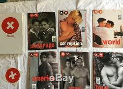 XY Magazine Original Limited Ed. Box Set Feat. Issues 1-6 + 24 Issues 1996-2001