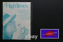 #1 High Times Magazine 1ère Première Édition Argent Ultra Rare Été 1974