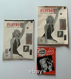 #1 Playboy Décembre 1953 + Sealed Réimpression + 1er Marilyn Monroe Cf B4 Hefner