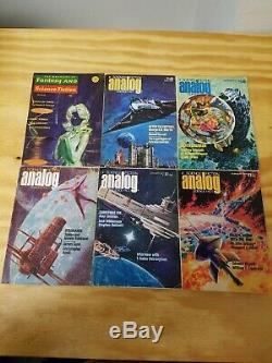 17 Analog + 27 Magazine De Fantasy Et Science Fiction Questions De 1958-1977