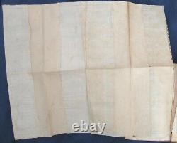 1746 Gentleman's Magazine Carte Rare Nouvelle-angleterre Boston Massachusetts Maine Canada