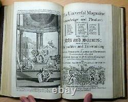 1750 Magazine Universal 2 Vol En 1 Gravures Phare D'alexandrie Rare Livre