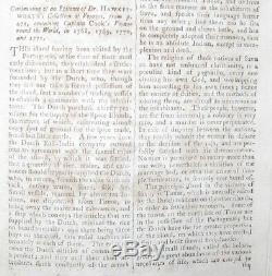 1775 Magazine Ville Et Campagne Octobre Guerre Revolutionnaire Capitaine Cook De John Hancock