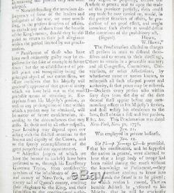 1778 & 1779 Magazine Gentleman Guerre Révolutionnaire John Adams George Washington