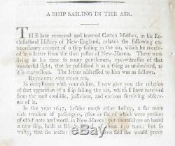 1797 Magazine Universal Américain Bateau Fantôme New Haven Voyage Australie Esclavage