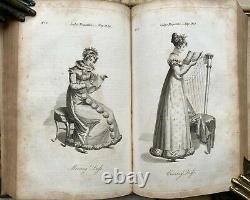 1821 Lady's Magazine Regency B - W Fashion Country Dance - Music Plates - Scores