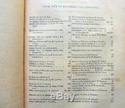 1841 Edgar Allan Poe Masque De La Mort Rouge Grahams Ladys Gentlemans Magazine