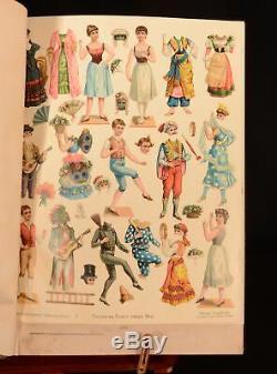1844-1883 4vol Nouvelles Illustrées De Londres Avec Le Graphique Du Magazine Penny
