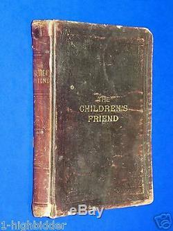 1902 Enfants Ami Vol. 1 Magazine Cuir Complet Mormon Lds Primaire Rare
