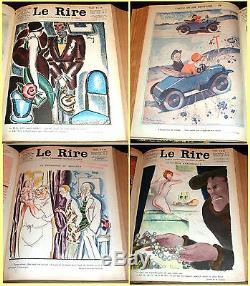 1928 Le Rire, Collection De Magazine Français, Art Déco Illustrateurs, Humour Et Satire