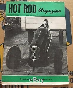 1948 Avril Hot Rod Piste De Roadster En Tête À Tête Plate Indy Bonneville