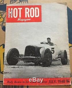 1948 Juillet Road Rod Roadster 1932 Course À Plat À Plat Indy Bonneville
