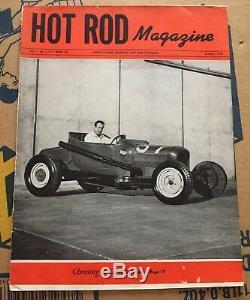 1948 Mars Hot Rod Piste De Roadster T Tête À Tête Plate Course De Sel Bonneville