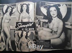 1950 Laff Magazine Un Bandante Marilyn Monroe Cover! Rare Haut De Gamme