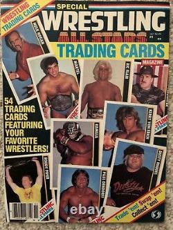 1985 Catch All Stars Trading Cards Magazine # 1 Toutes Les Cartes Inclus