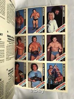 1985 Magazine De Cartes À Collectionner Wrestling All Stars N ° 1: Complet 54 Cartes Non Coupées