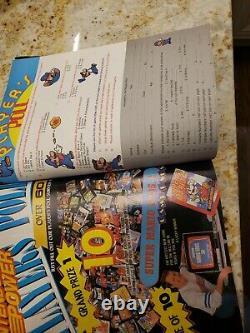 1988 Nintendo Power Magazine Juillet Août Numéro #1 Avec Poster Super Mario 2 Zelda