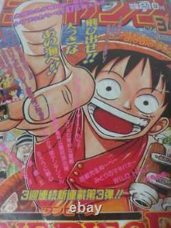 1997 Original Shonen Jump Vol 34 One Piece Premier Épisode Weekly Magazine Vintage