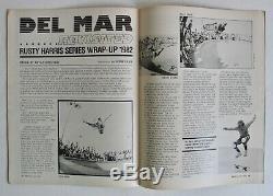1er D'émission 1983 Trans World Skateboarding Magazine Première N ° 1 Planche À Roulettes Skater Etats-unis