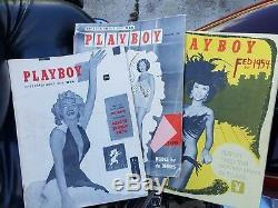 1ère Édition / Numéro Playboy Magazine Décembre (1953), Janvier / Février (1954)