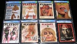 27 Cgc Playboys (avec 6 # 1 Playboys) Et 1 Cgc 9.6 Michael Jordan Time